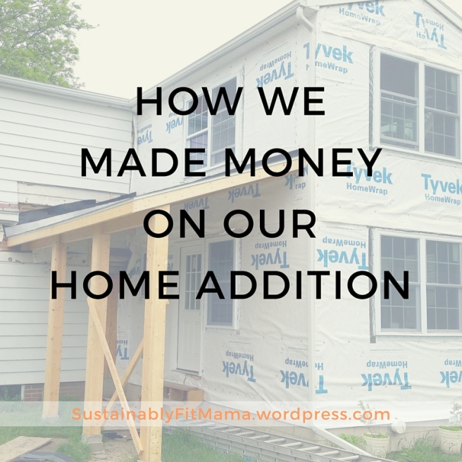 made money on home construction