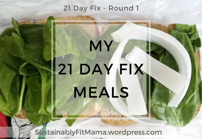 My Favorite Meals + Snacks + Desserts from my First Round of 21 Day Fix | SustainablyFitMama.WordPress.com