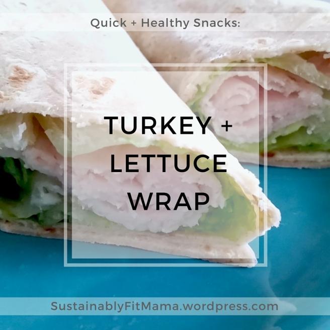 Quick + Healthy: Turkey Wrap | SustainablyFitMama.wordpress.com